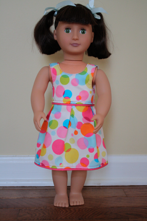 Springfield Collection Dolls: Make It Yourself Monday: Free 18-inch ...