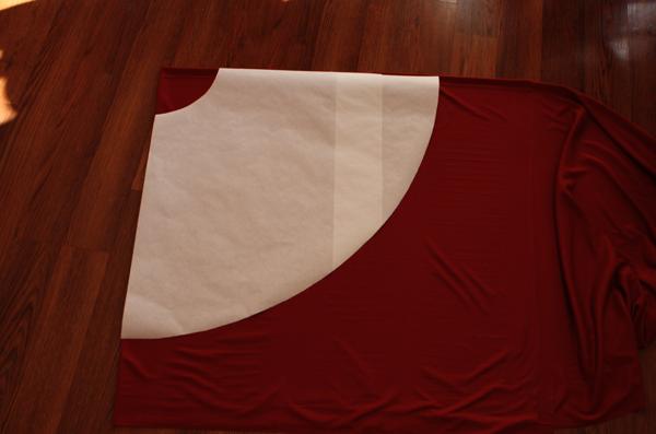 Little Red Infinity Dress Tutorial - Sew Like My Mom
