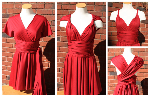 5458d643c047 Little Red Infinity Dress Tutorial - Sew Like My Mom