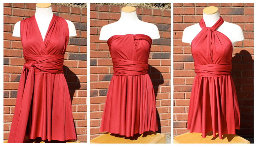 Convertible dress plus size pattern