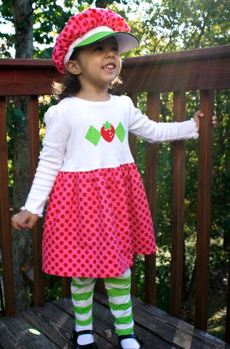 Sheu0027s ...  sc 1 st  Sew Like My Mom & Strawberry Shortcake | Sew Like My Mom
