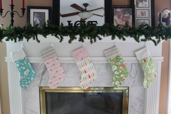 Christmas Stockings | Sew Like My Mom