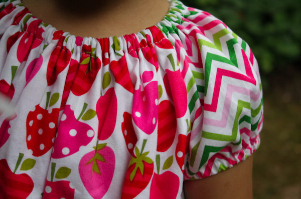 short sleeve peasant dress tutorial | Sew Like My Mom