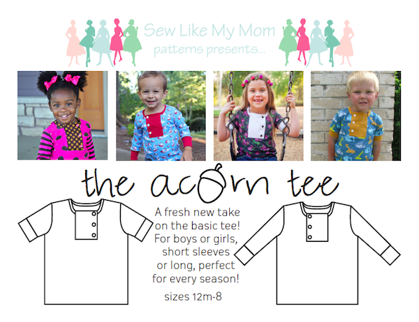Sew Like My Mom | Acorn Tee