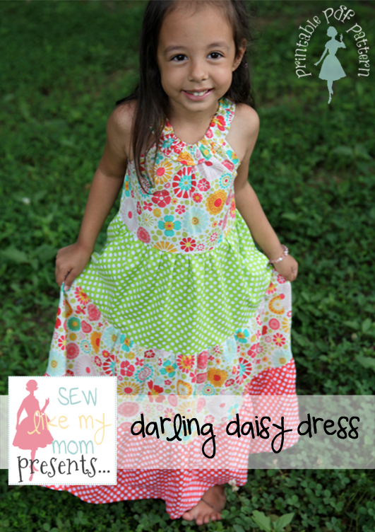 Sew Like My Mom | Darling Daisy pattern