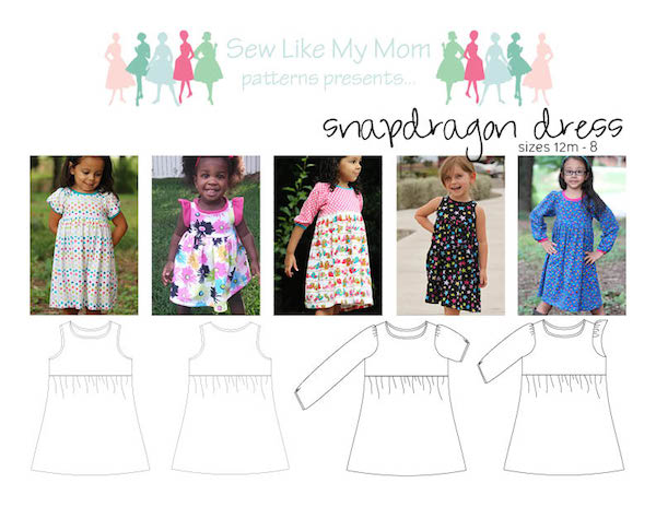 Sew Like My Mom | Snapdragon Dress