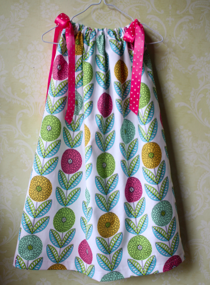 Serged Pillowcase Dress | Sew Like My Mom