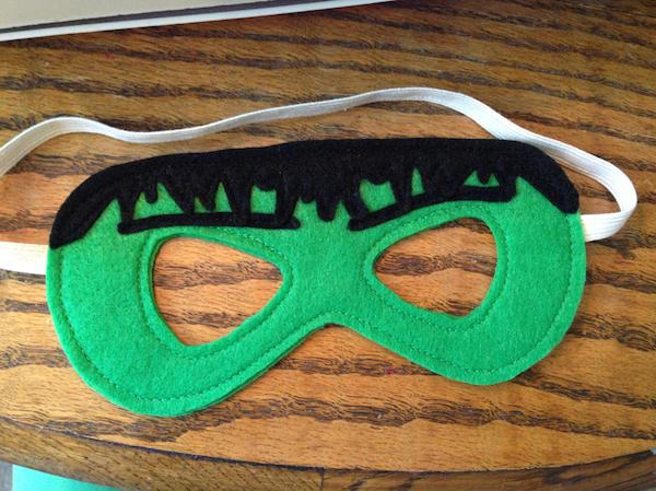 Superhero Masks - Sew Like My Mom