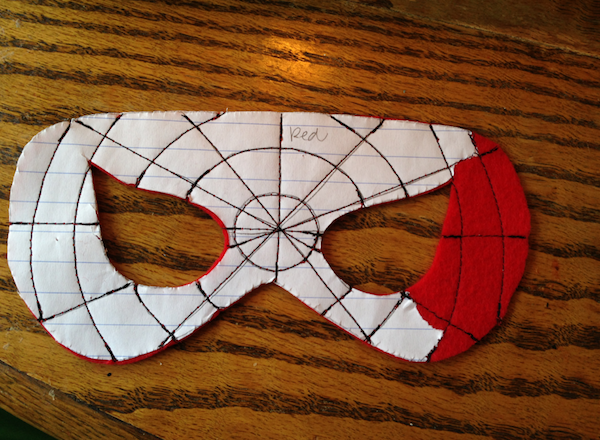 Spiderman Eye Mask Template Images & Pictures - Becuo