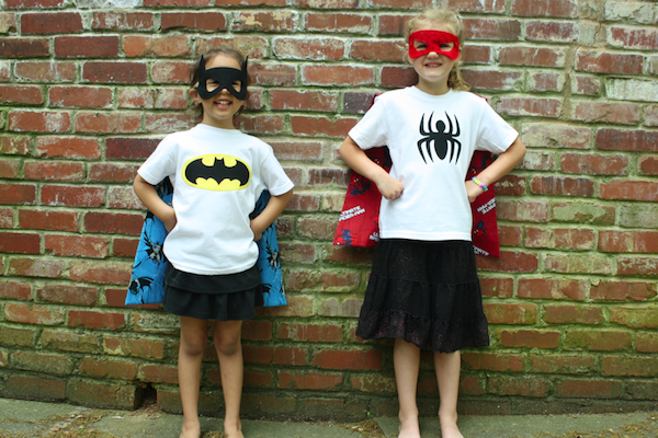 Sew Like My Mom | Superhero Shirt Tutorial