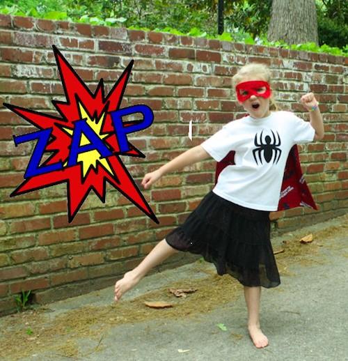 Sew Like My Mom   Superhero Shirt Tutorial