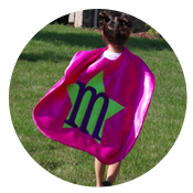 Sew Like My Mom | Superhero Cape Tutorial