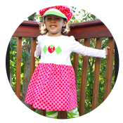 Sew Like My Mom | Strawberry Shortcake Tutorial