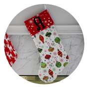 Sew Like My Mom | Christmas Stockings Tutorial