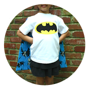 Sew Like My Mom | Cape Shirt Tutorial