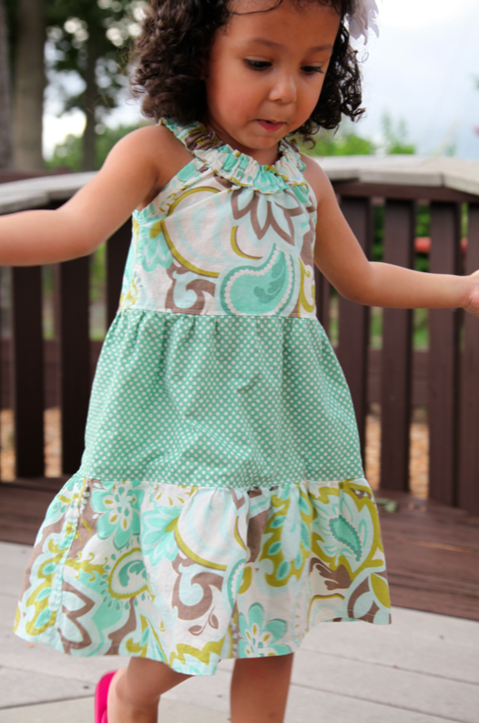 Sew Like My Mom | Darling Daisy Dress Pattern