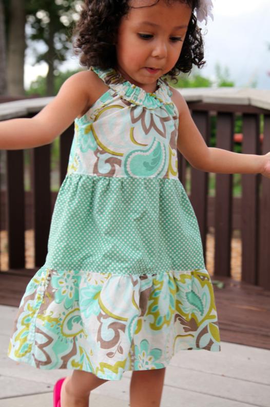 Sew Like My Mom | Darling Daisy Dress Pattern