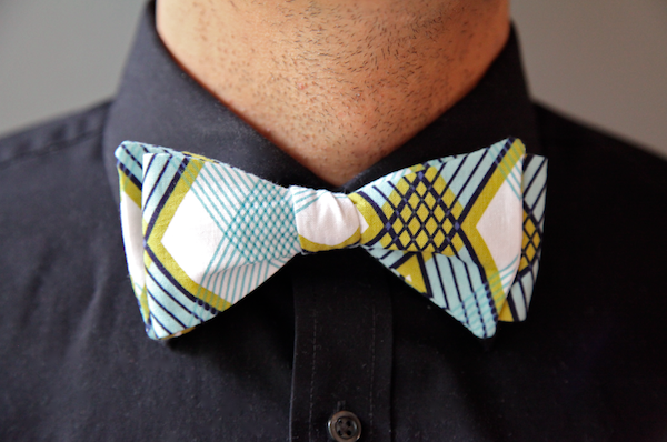 Sew Like My Mom | Menu0027s Bow Tie Tutorial