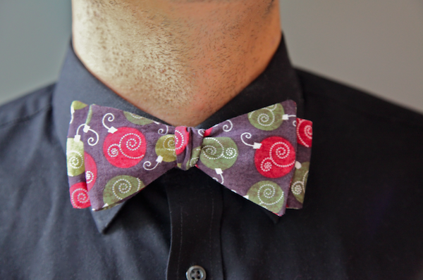 Sew Like My Mom | Men's Bow Tie Tutorial
