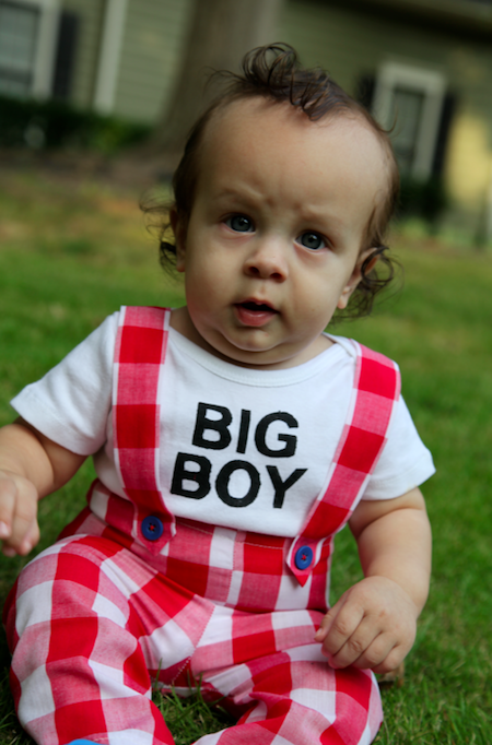 Sew Like My Mom | Bob's Big Boy Halloween Costume