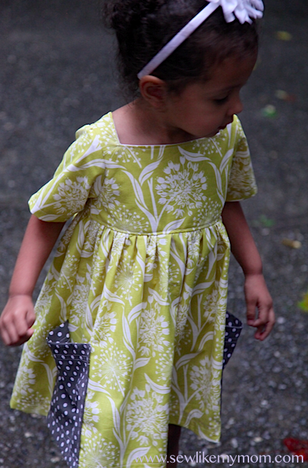 Sew Like My Mom | Sally Dress pattern review