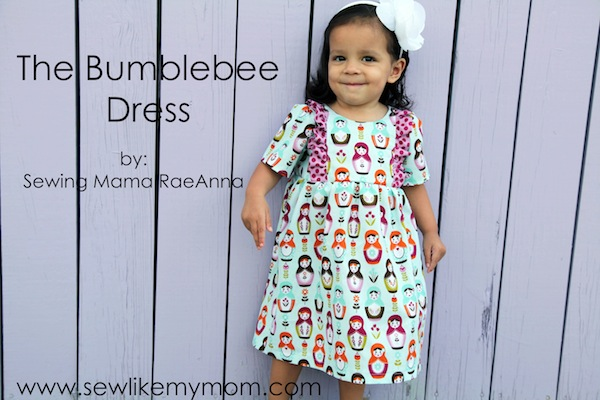 Sew Like My Mom | Bumblebee Dress