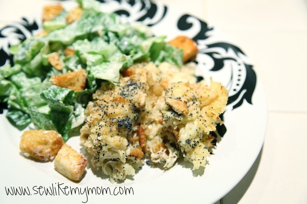 Sew Like My Mom | Poppy Seed Chicken recipe