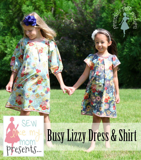 Sew Like My Mom | Busy Lizzy pattern