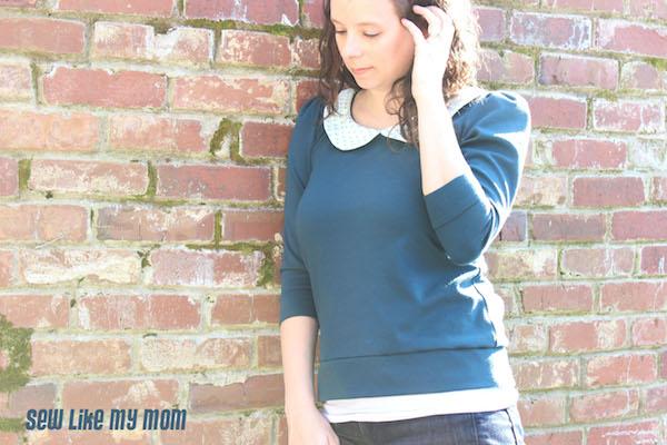 Sew Like My Mom   Parisian Top