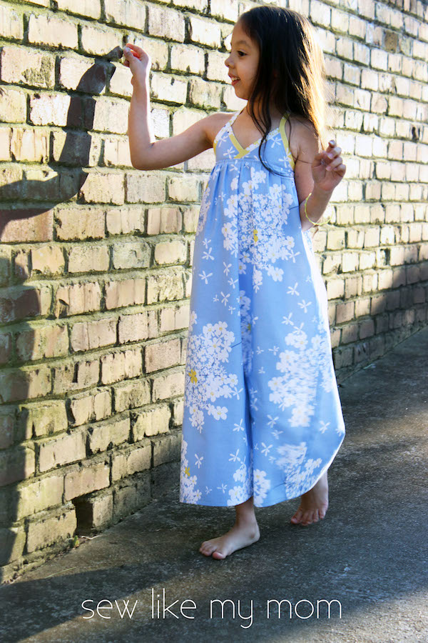 Sew Like My Mom | Bias Maxi Dress