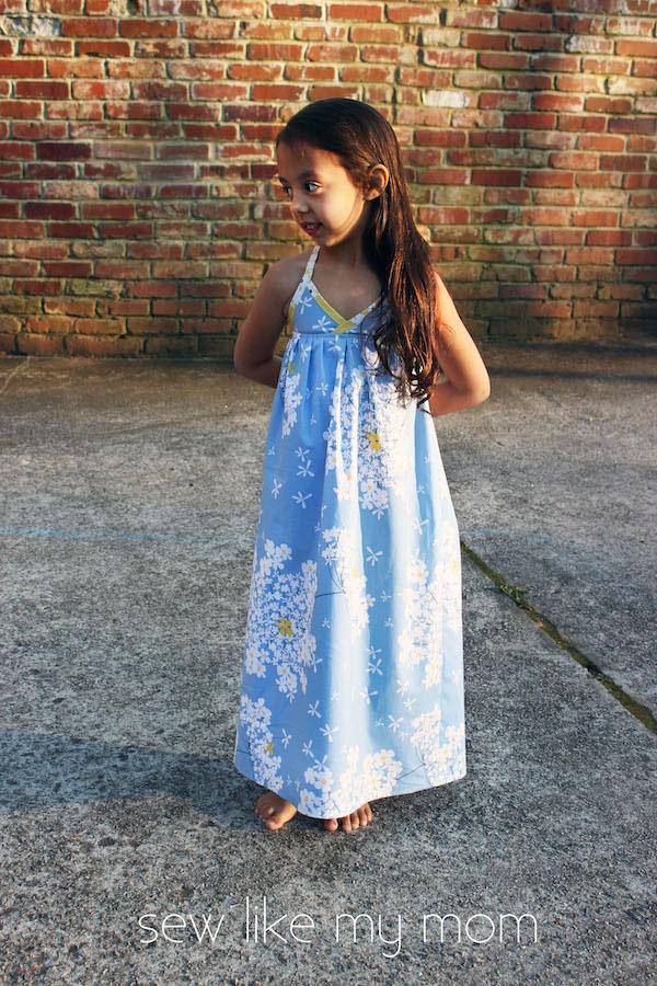 Sew Like My Mom   Bias Maxi Dress