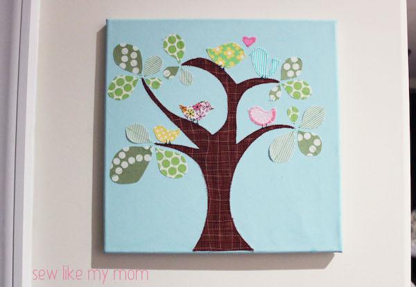 http://sewlikemymom.com/appliqued-canvases/