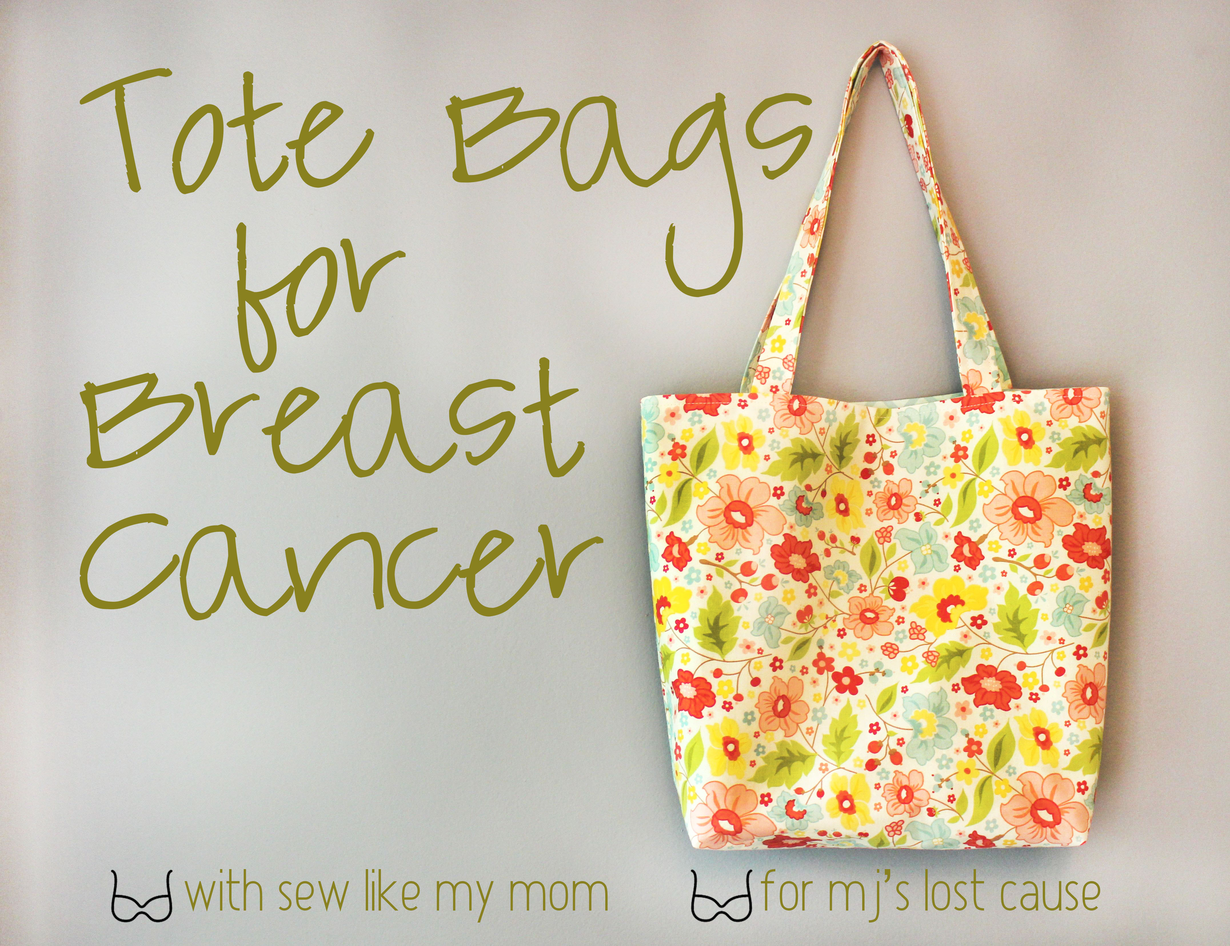 Sew Like My Mom | totes for tits