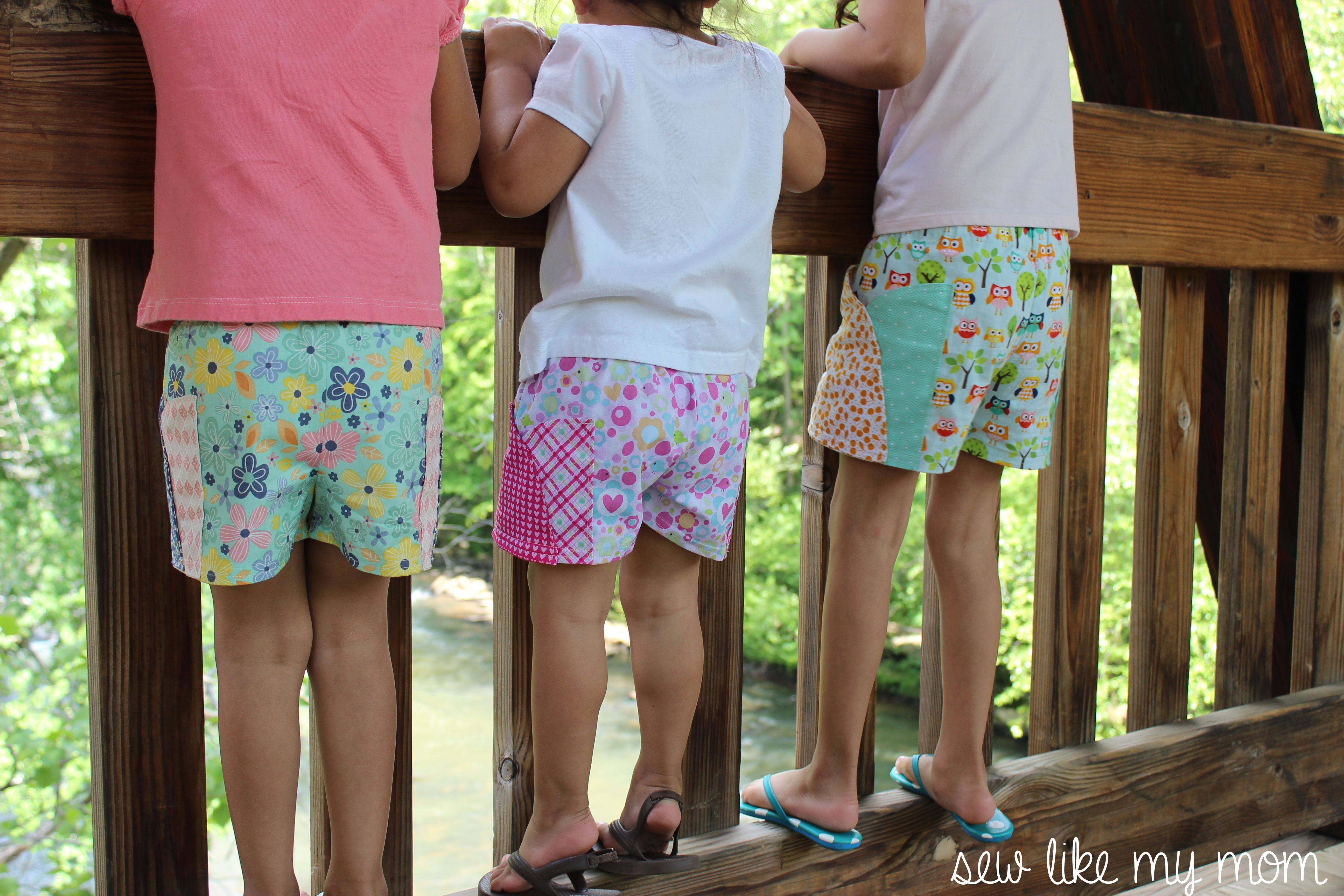 This is a graphic of Inventive Free Printable Toddler Shorts Pattern