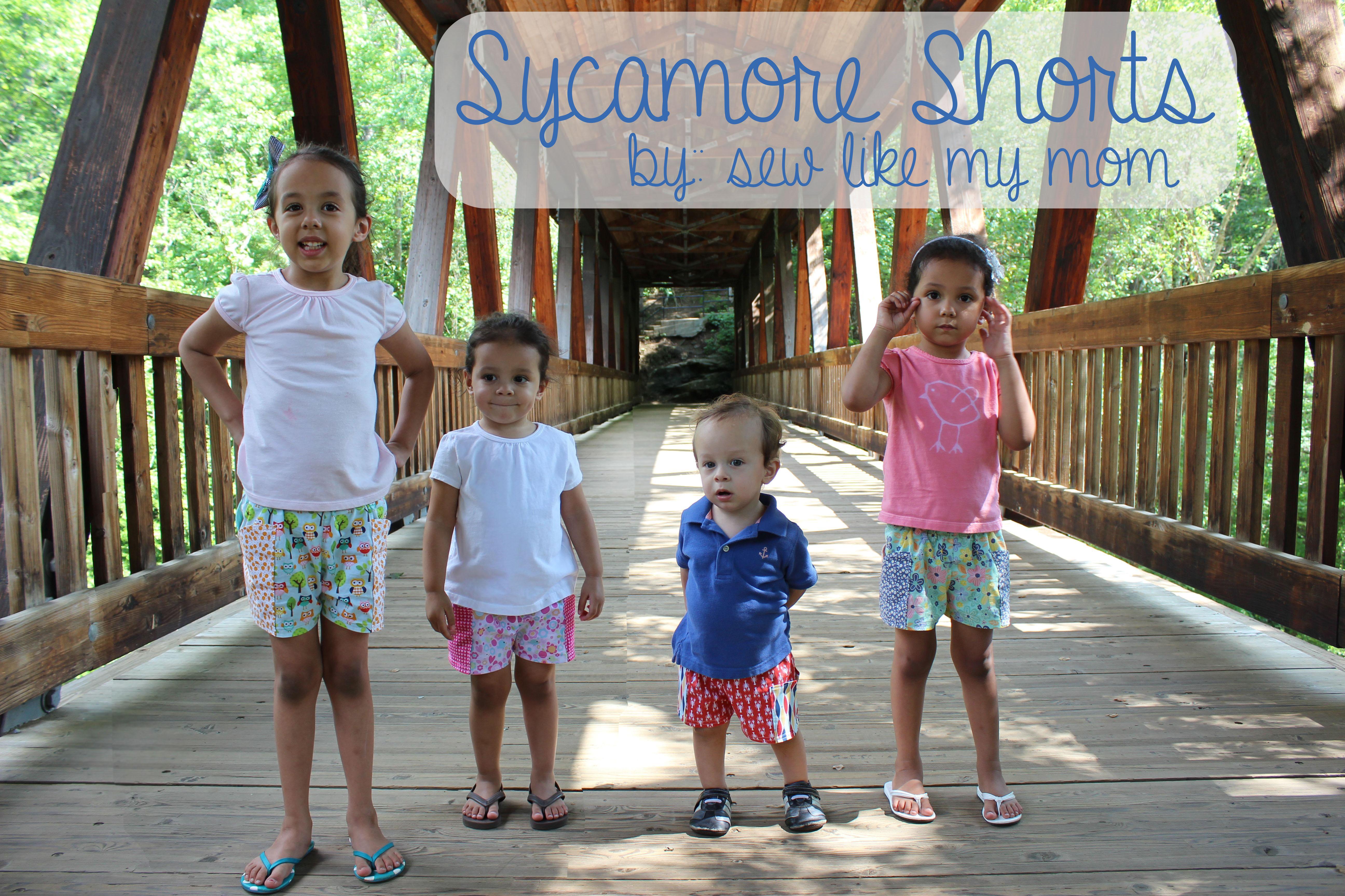 Sew Like My Mom | Sycamore Shorts