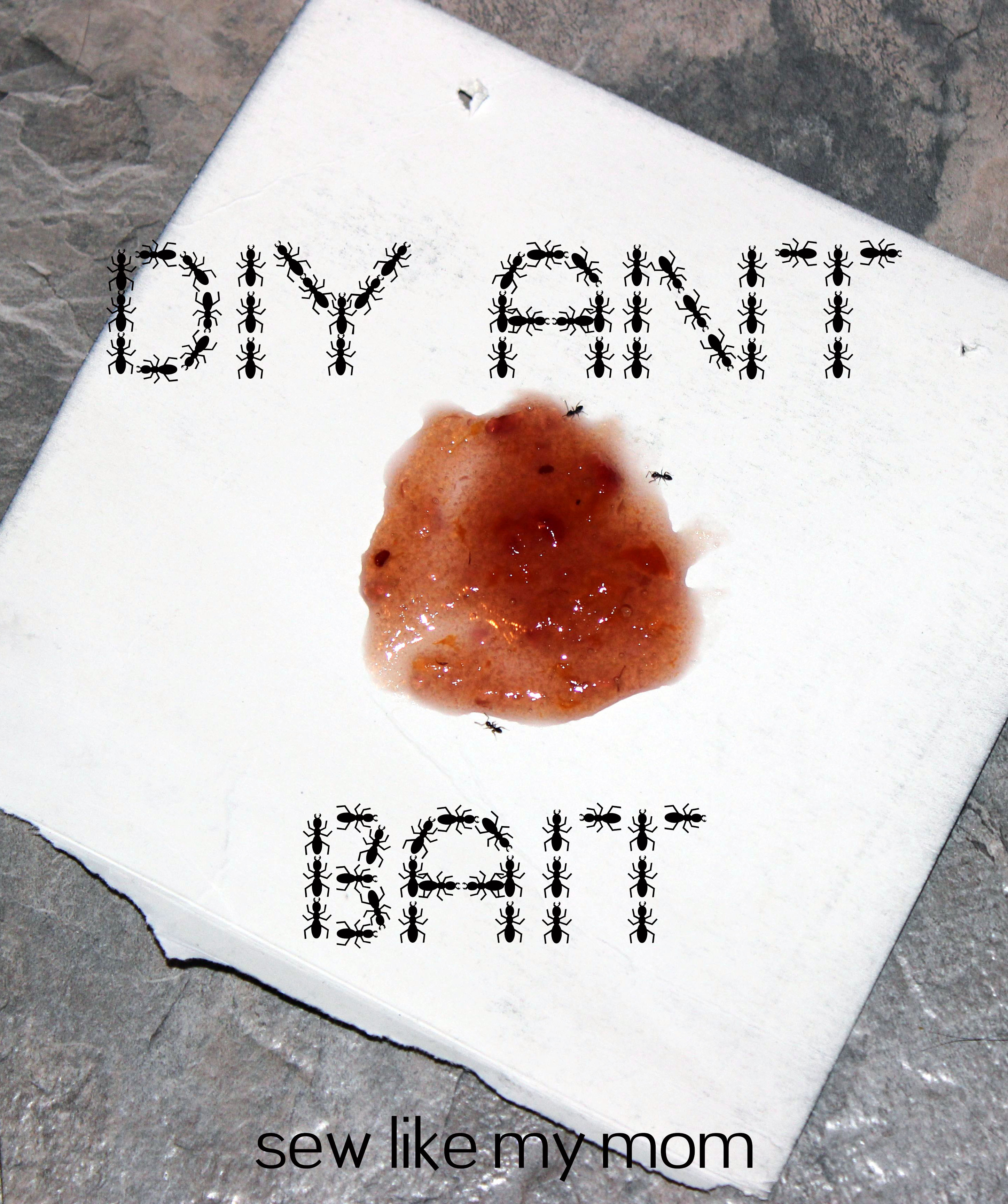 Sew Like My Mom | DIY Ant Bait