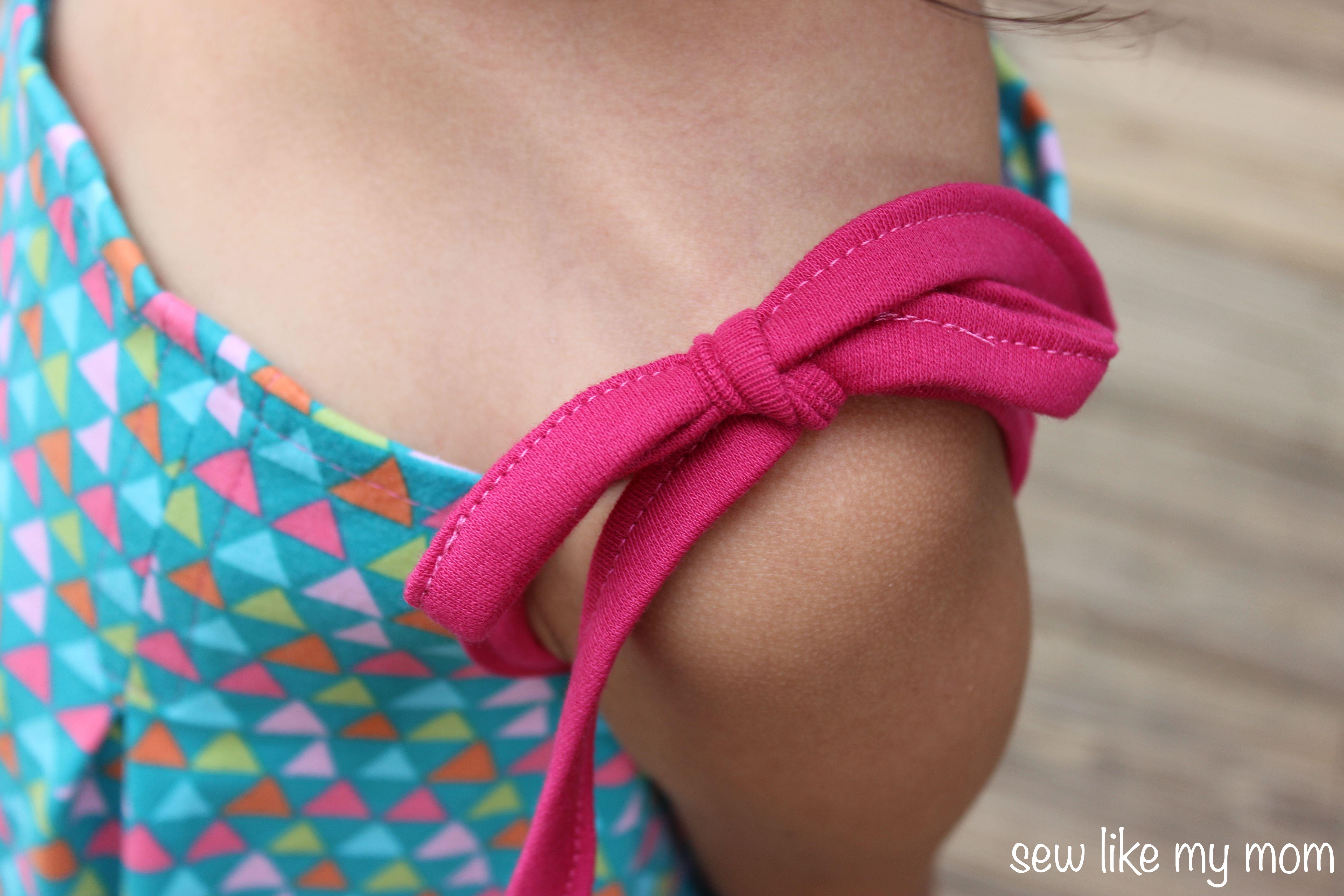 Sew Like My Mom | Pleated Sundress