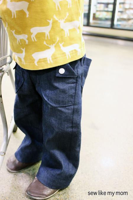 Sew Like My Mom | Bottoms Up Pants