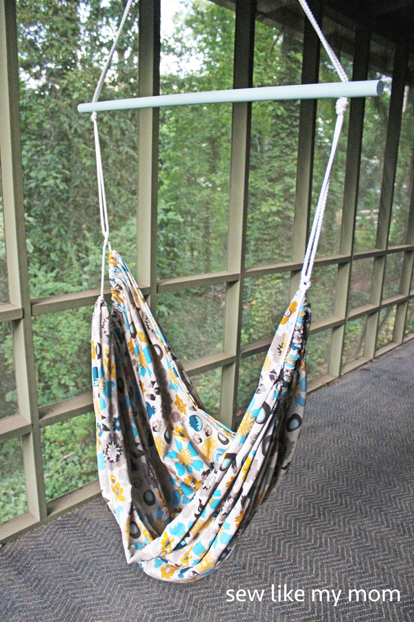 Medium image of sew like my mom   hammock chair
