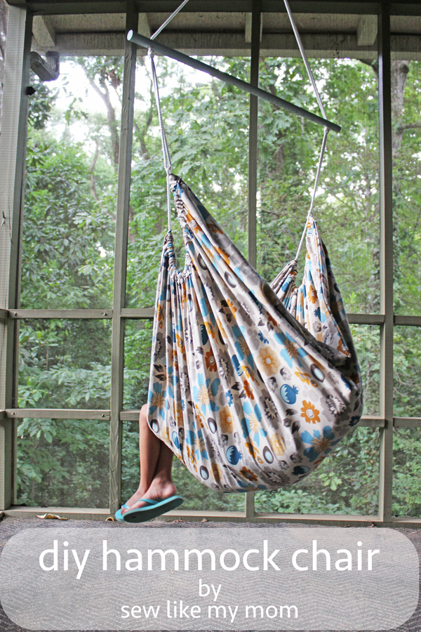 Hammock Chair for Riley Blake - Sew Like My Mom