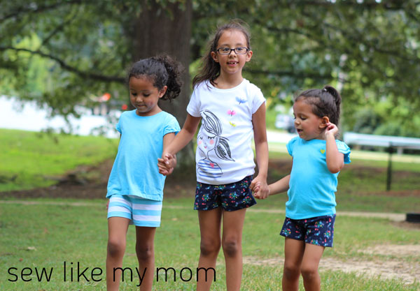 Sew Like My Mom | Ginger Shorties