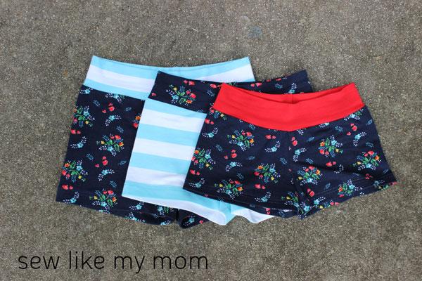 Sew Like My Mom   Ginger Shorties