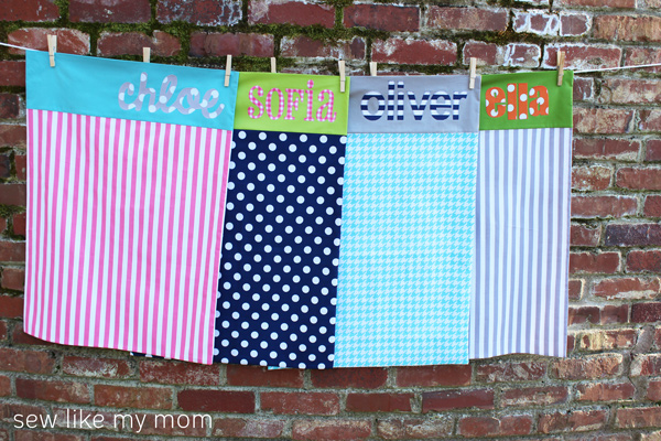 Sew Like My Mom | Applique Pillowcase