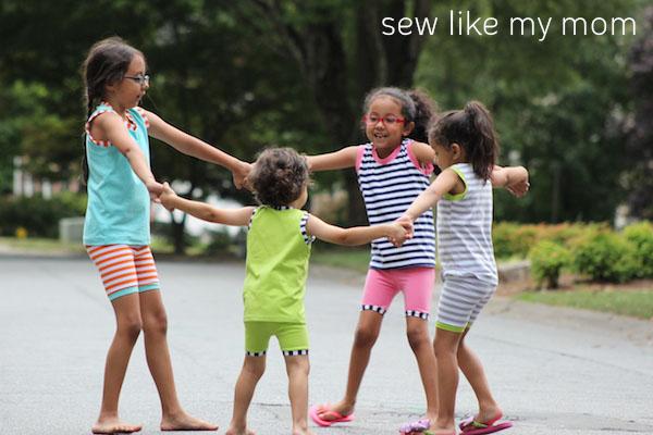 Sew Like My Mom | Coconut Summer Pajama Set