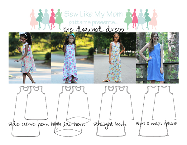 Sew Like My Mom | Dogwood Dress
