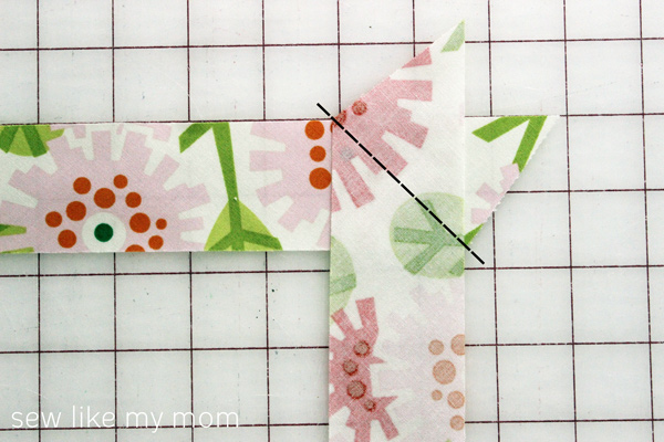 Sew Like My Mom | Bias Tape tutorial