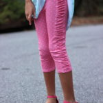 Sew Like My Mom Peony Leggings 6-16