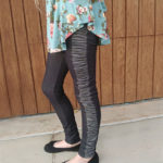 Sew Like My Mom Peony Leggings